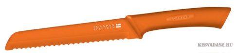 SCANPAN Spectrum kenyérvágó kés - narancssárga