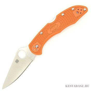 Spyderco Delica 4 zsebkés - narancssárga