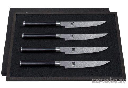 Kai Shun Damaszk dobozos szett 4 Steak késsel