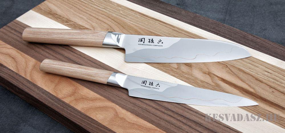 KAI Seki Magoroku Composite hámozókés - 9cm