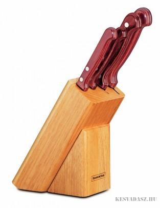 TRAMONTINA Polywood konyhai késkészlet 4 késsel