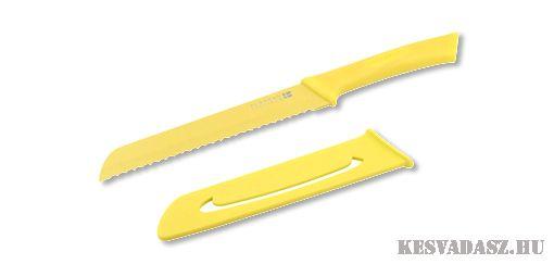 SCANPAN Spectrum kenyérvágó kés - sárga