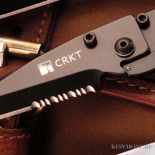 CRKT Kiss Edc kés fekete