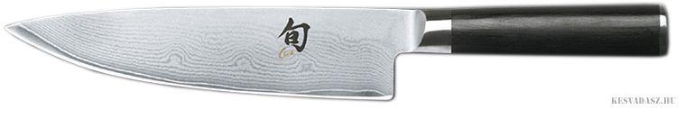KAI Shun damaszk pengés szakácskés - 20cm balkezes