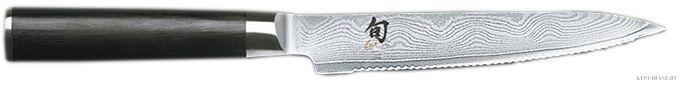 KAI Shun damaszk pengés paradicsomvágó konyhakés - 15cm