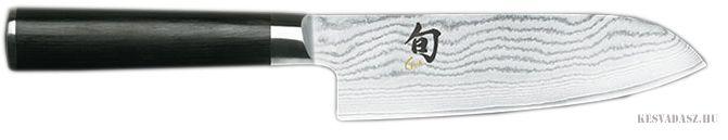 KAI Shun damaszk pengés santoku szakácskés - 14cm