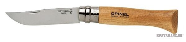 OPINEL Inox No.8. zsebkés 8,5 cm-es pengehosszal