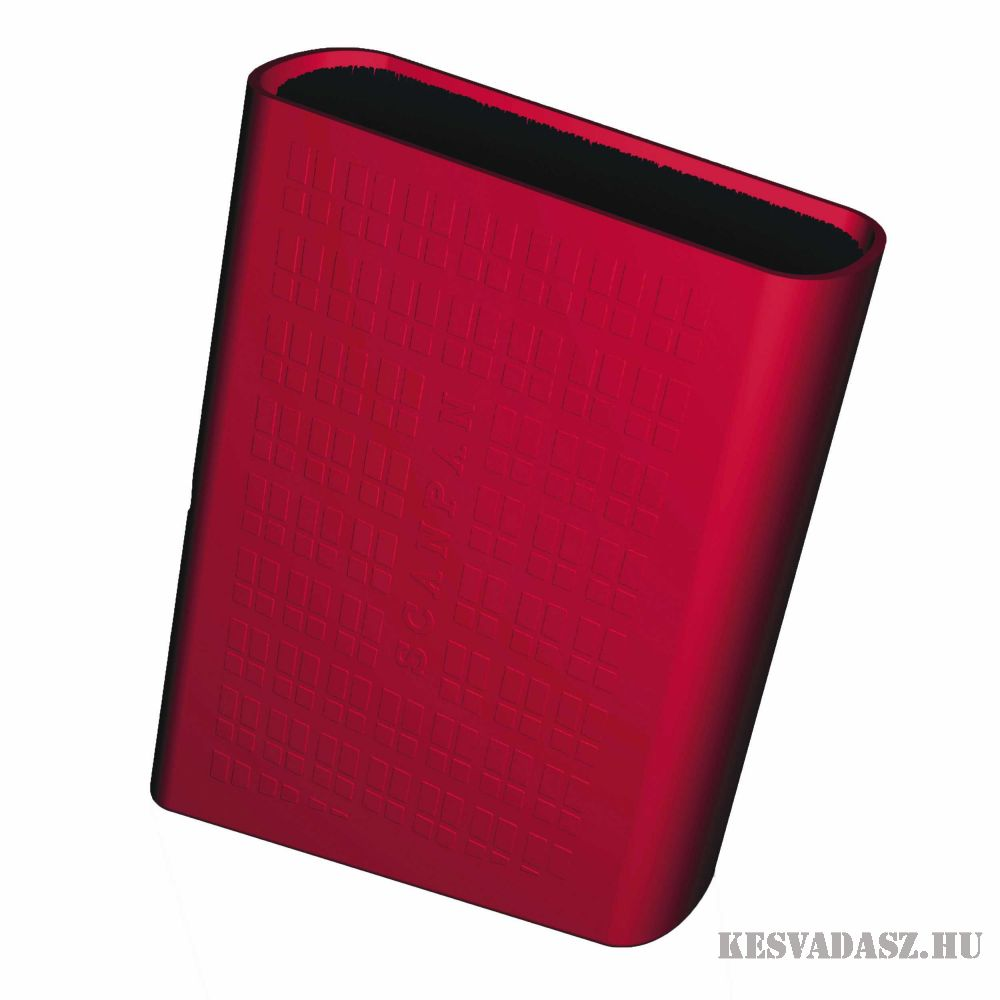 SCANPAN Spectrum késtartó blokk - piros