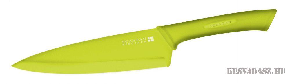 SCANPAN Spectrum santoku konyhakés – zöld