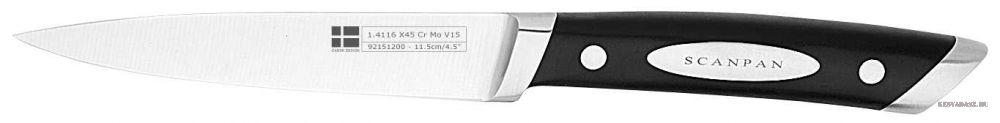 SCANPAN Classic zöldségpucoló kés - 11,5cm