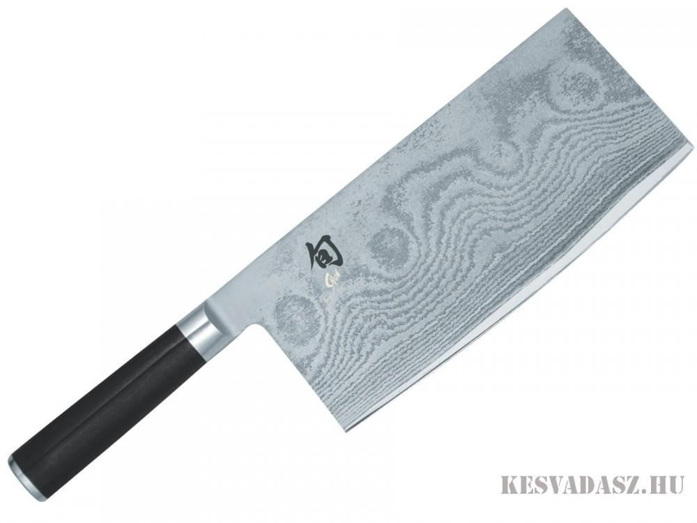 KAI Shun damaszk pengés kínai típusú szakácskés - 18 cm