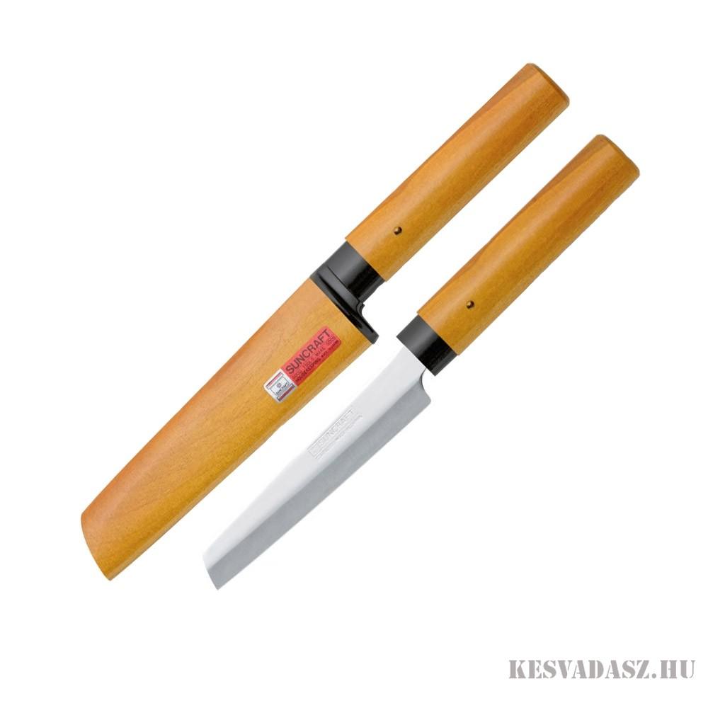 Due Cigni japán szendvicskés fa tokkal