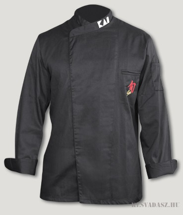 KAI Shun fekete szakácskabát