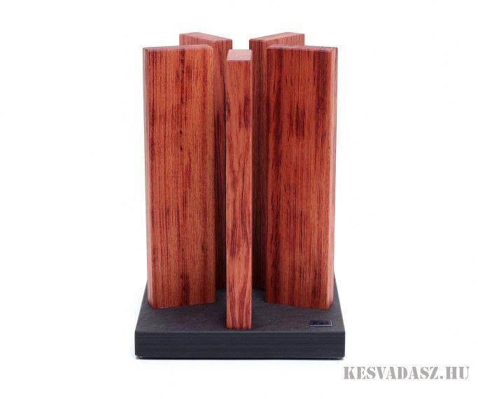 KAI Stonehenge mágneses késtartó blokk (kések nélkül)