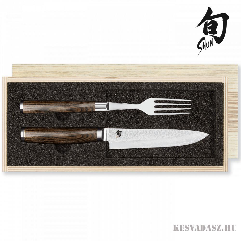 KAI Shun Premier TIM MÄLZER steak evőeszköz szett