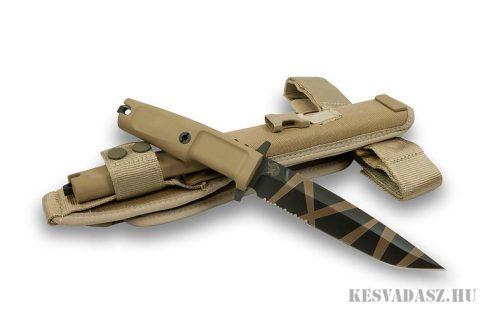 EXTREMA RATIO Col Moschin fix pengés sivatagi taktikai kés