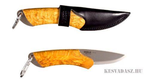 HELLE Fire outdoor kés bőr tokkal