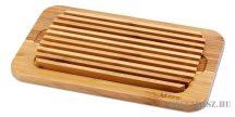 DUE CIGNI bambusz kenyérvágó deszka