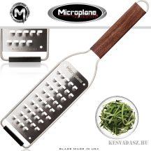 Microplane Master finom reszelő diófa nyéllel