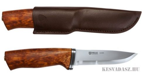 HELLE Alden outdoor kés bőr tokkal