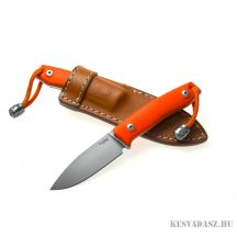 LionSteel M1 G10 Orange bushcraft kés