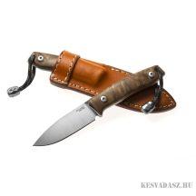 LionSteel M1 Walnut wood outdoor kés