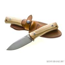 LionSteel M4 Olive wood outdoor kés