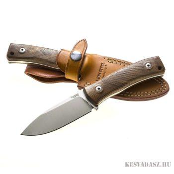 LionSteel M4 Walnut wood outdoor kés