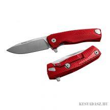 LionSteel ROK Aluminium Red zsebkés, piros